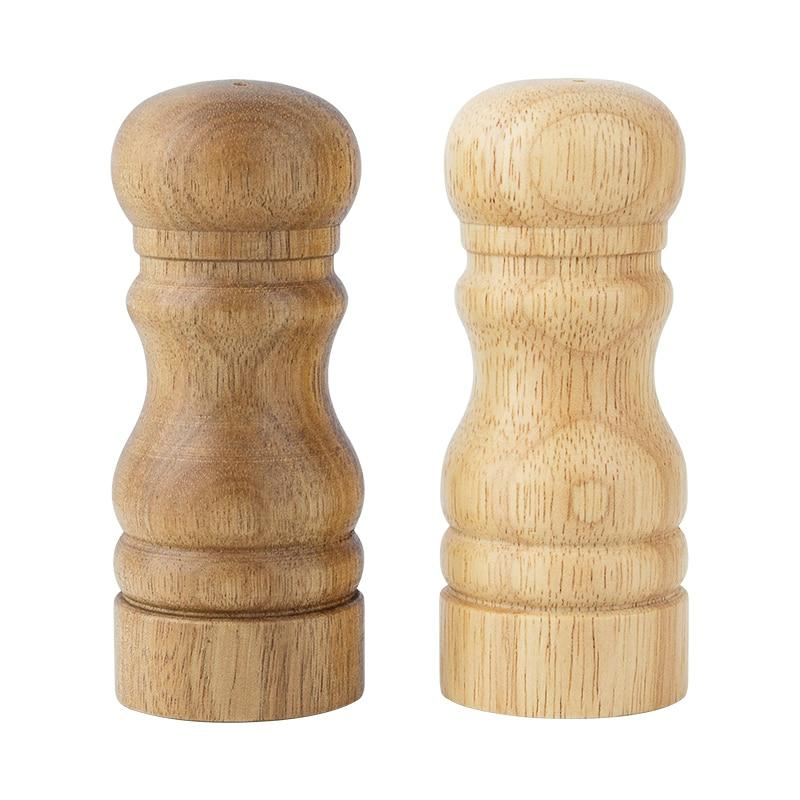 Wooden Salt and Pepper pot - waseeh.com