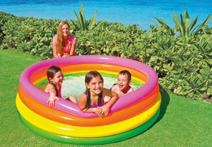 Sunset Glow Pool - waseeh.com