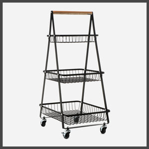 Multi-Function Mobile Trolley Cart (3-Tier)