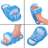 Giveme5 Bathroom Foot Cleaner, Shower Feet Brush - waseeh.com
