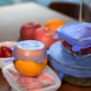 silicone stretch lids safe & environmental silicone lids - waseeh.com