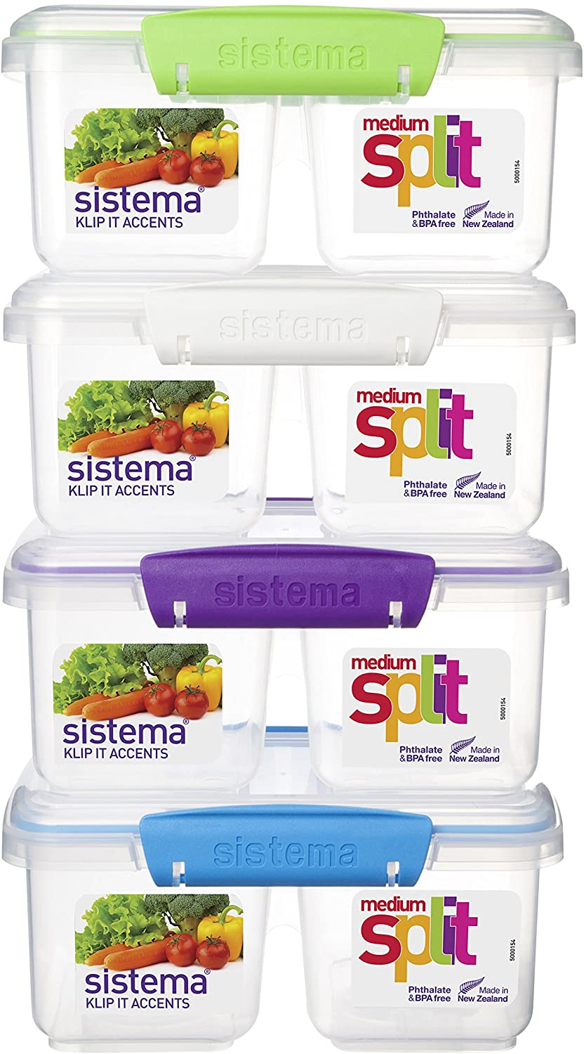 Medium Split Accents Lunch Box - waseeh.com