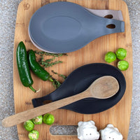 Modern Spoon Rest - Kitchen Utensil Holder - waseeh.com