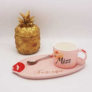 """Miss You"" Cup Set"