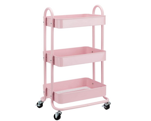 Rolling Kitchen Rack (3-Tier)