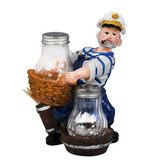 "Salt & Pepper Set (""Sailor on the Roll"" Style)"
