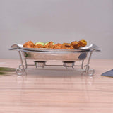 Luxurious & Elegant candle Radiant Heated Dish with Stand. - waseeh.com