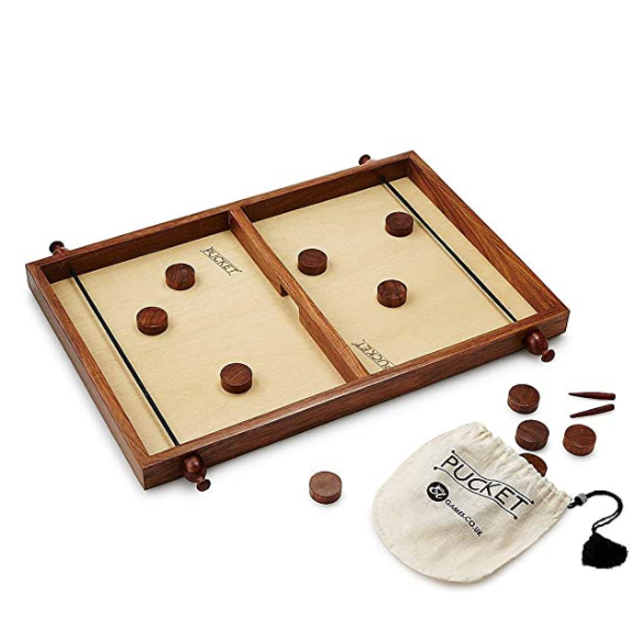 Wooden Pucket Game