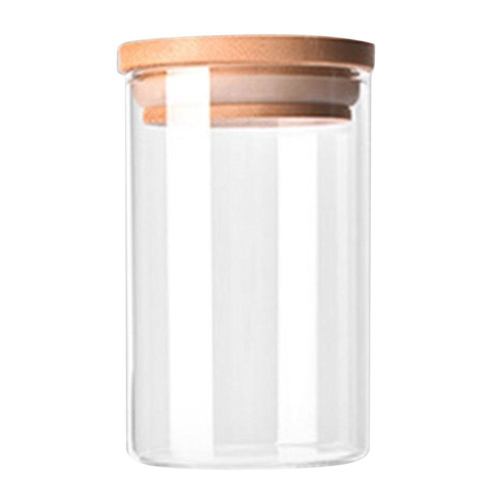 Transparent High Borosilicate Storage Bottle - waseeh.com