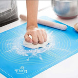 Kitchen Accessories Baking Mats Sheet Pizza Dough Non-Stick Maker Holder Pastry Gadgets Cooking Tools Utensils Bakeware - waseeh.com