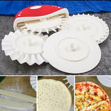 Grooved Wheel Pizza Knife - waseeh.com