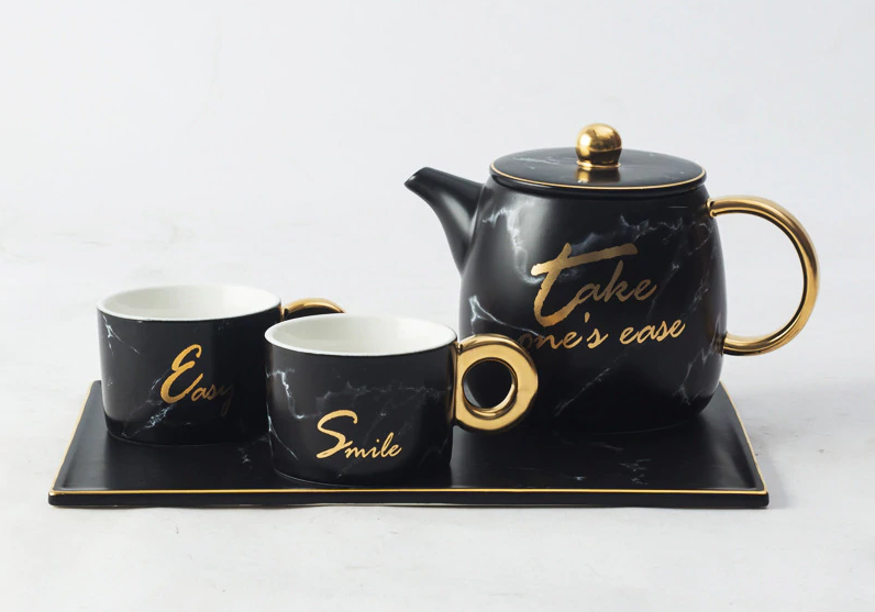 """Take One's Ease"" Obsolete Cup Set - waseeh.com"
