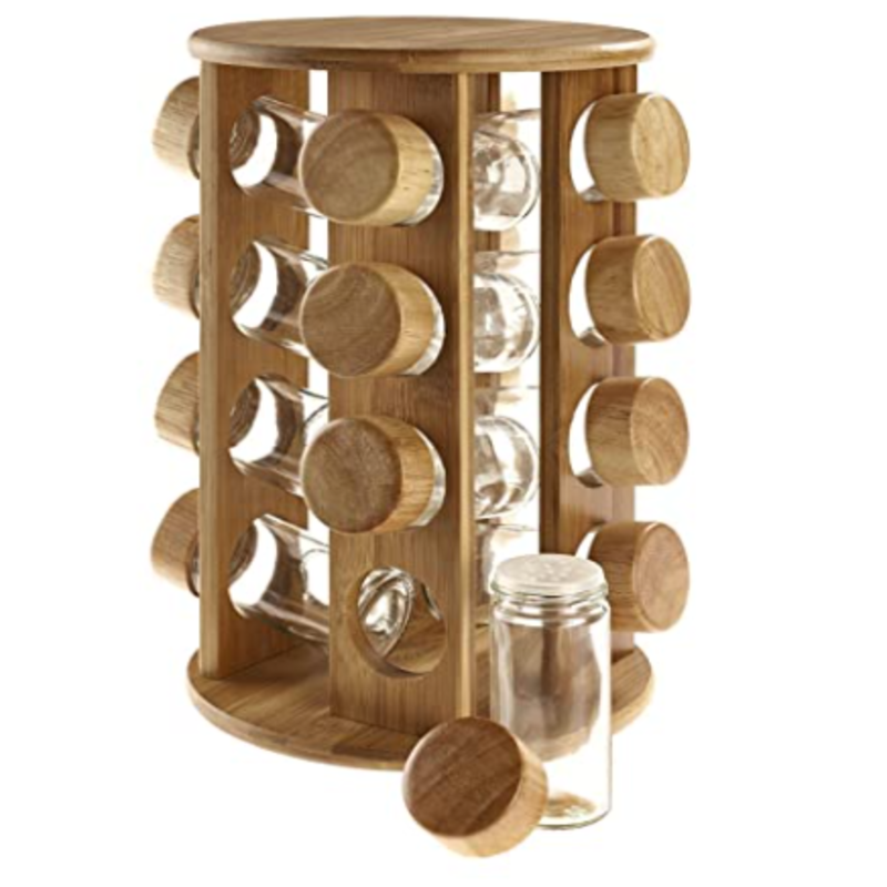 Rubberwood Spice Rack - waseeh.com