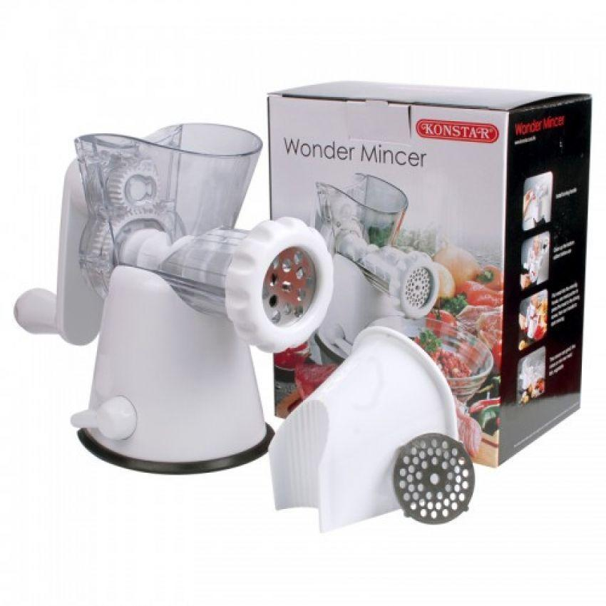 KONSTAR - Wonder Mincer (Effective Manual Mincing Machine) - waseeh.com