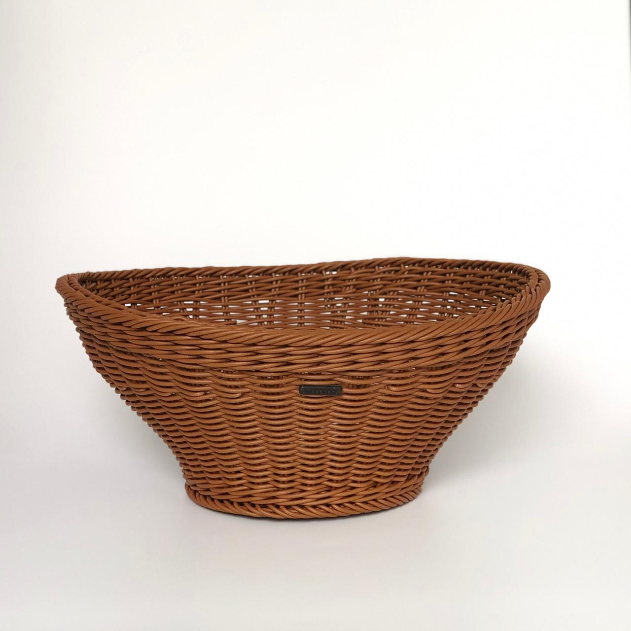 Exquisite Oval Braided Basket