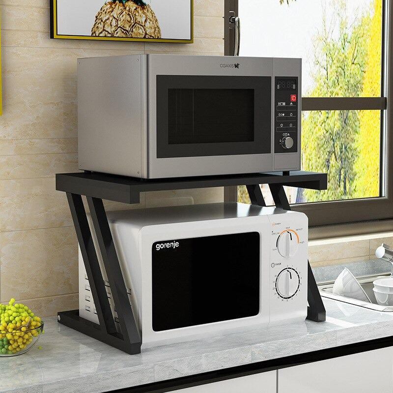 Microwave Double Shelf Storage - waseeh.com