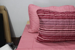 Export Quality Cotton Bed Spread Set - 6 pcs - Lined - waseeh.com