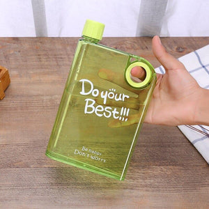 Plastic Drip Proof Portable Water Bottle