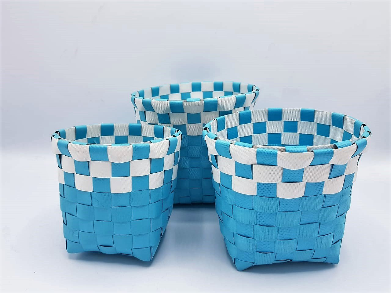 Braided Basket (set of 3) - Square - waseeh.com