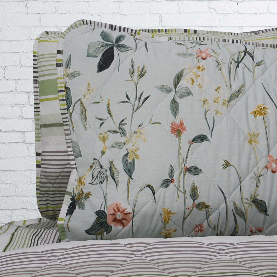 Spring Glade Floral - 6 Pieces Bed Spread Set - waseeh.com