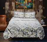 Leaves - Export Quality Bed Spread Set - 6 pc - waseeh.com