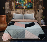 Big Geometric - Export Quality Bed Spread Set - 6 pc - waseeh.com