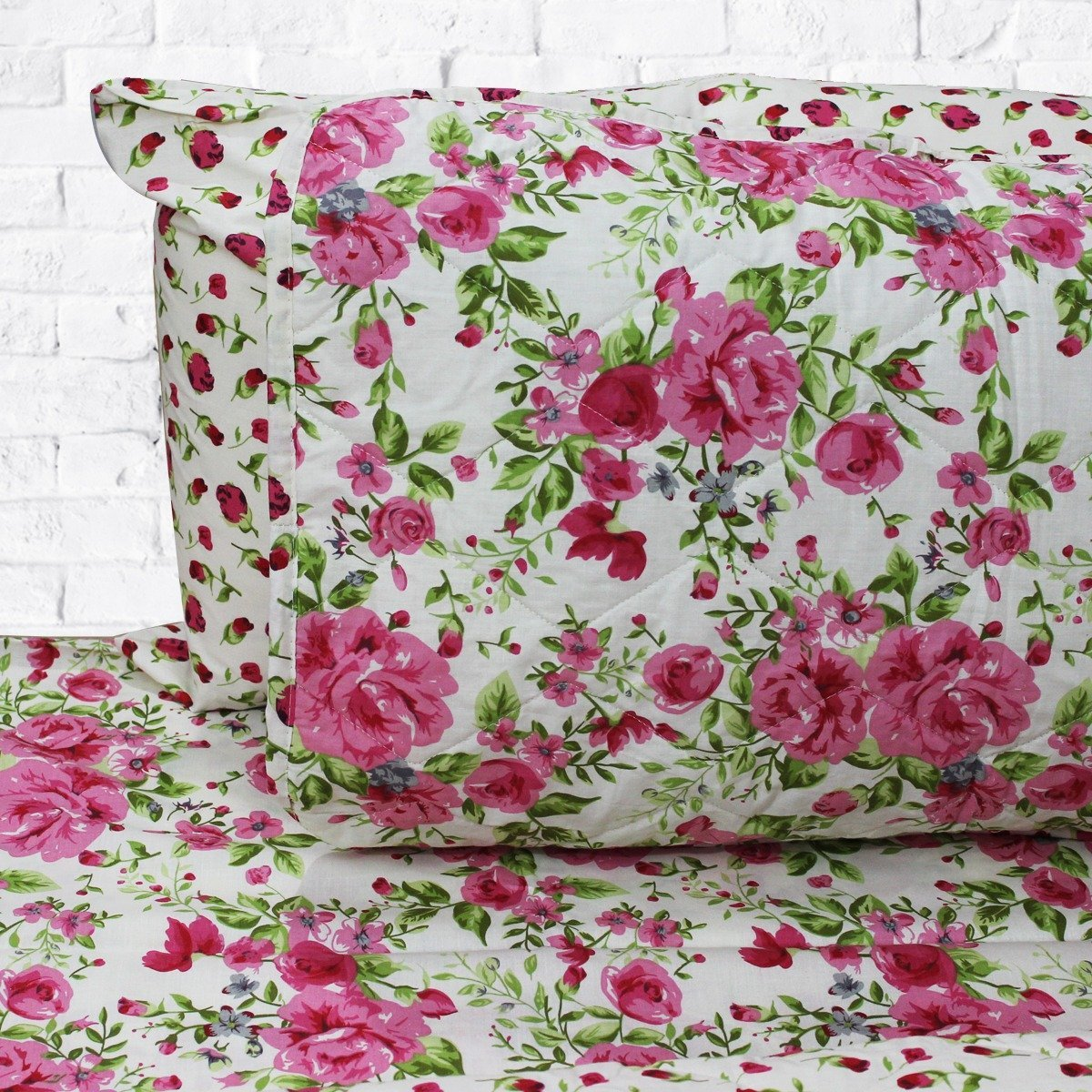 Bed of Roses - 6 Pieces Bed Spread Set - waseeh.com