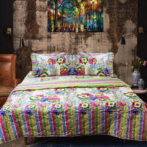 Palace Flower Birch Bedding Spread Set - 6 pieces - waseeh.com