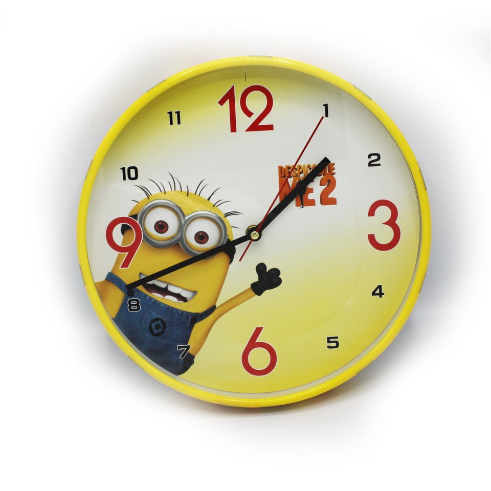 Kids Room Wall Clock - Minions - waseeh.com