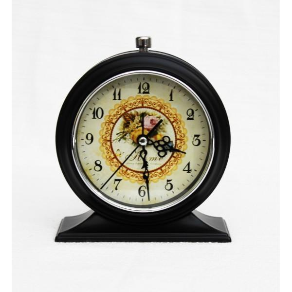 Alarm Clock - Flowers and Butterfly - waseeh.com