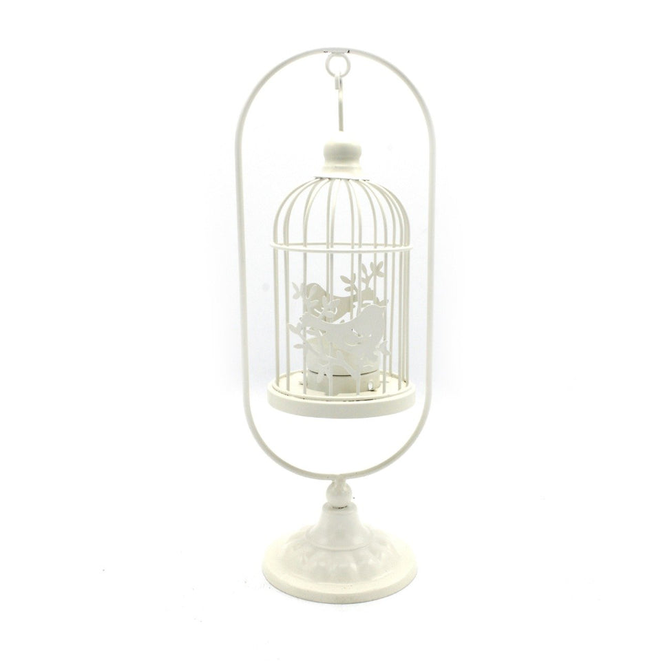 Candle Stand - Bird - Tower - Medium - waseeh.com