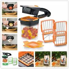 Multi 5 in 1 Fruit Vegetable Cutter - waseeh.com