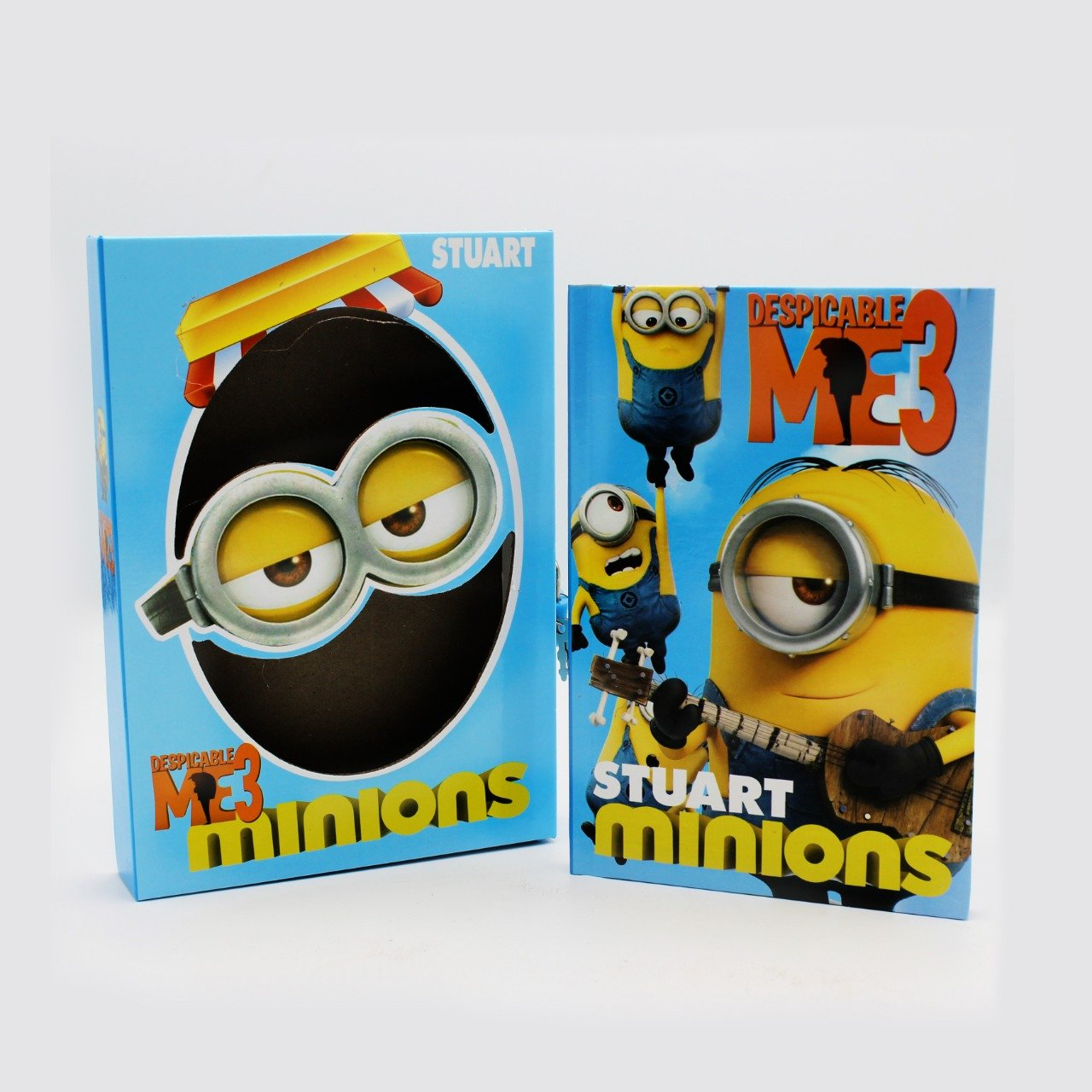 Secure Diary with Lock - Minions - waseeh.com