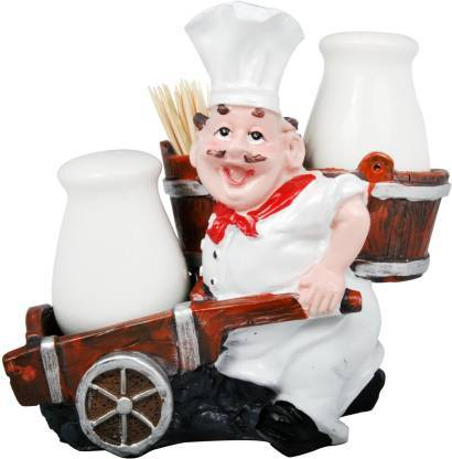 Salt & Pepper Set (Chef American Towing Trolley Style)