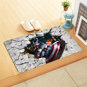 Kids Foot Mat - Justice League - waseeh.com
