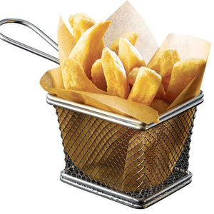 Stainless Steel Fries Holder - waseeh.com