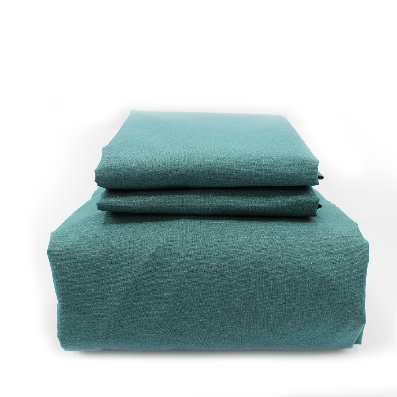 Fitted Sheet withPillow Covers - Teal - waseeh.com