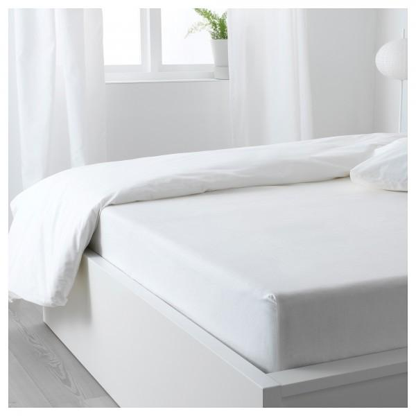 Fitted Sheet - Plain Light Gray - waseeh.com