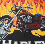 Single Kids Bed Sheet - Harley Bike Designed - waseeh.com