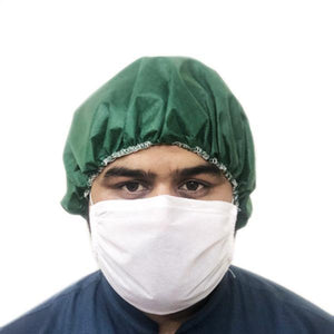 Face Mask in Non Woven Fabric with Nose Press Wire - waseeh.com