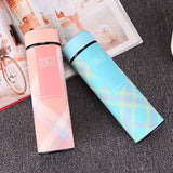 Kids Double Layer Stainless Steel Vacuum Flasks Insulated Tumbler coffee tea thermo mug thermocup Sport thermal water bottle - waseeh.com