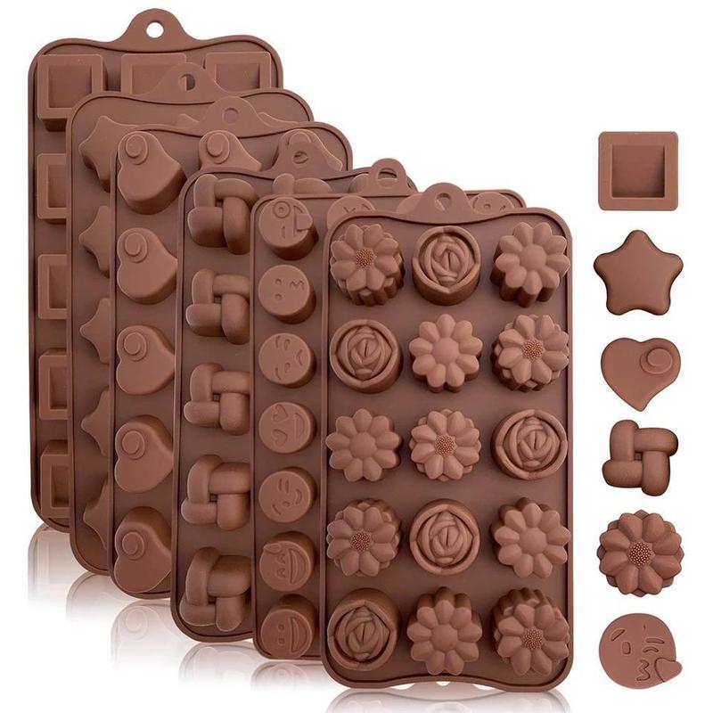 Silicone Chocolate Making Mould - waseeh.com