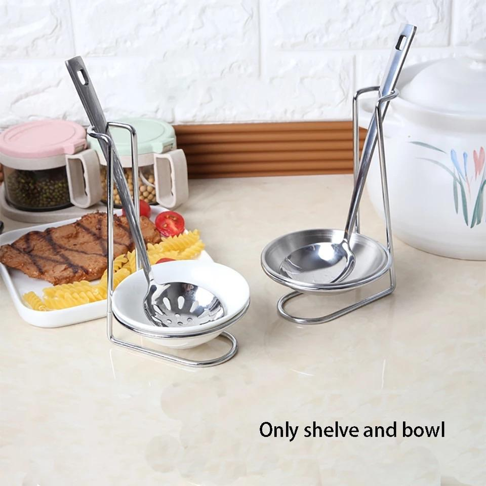 Houseen Ladle Holder (Stainless Steel) - waseeh.com