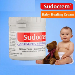 2PCS Original Sudocrem Soothing Cream for Baby Problem Skin Psoriasis Dermatitis Body Lotion Care Nappy Rash Eczema Skin Care - waseeh.com