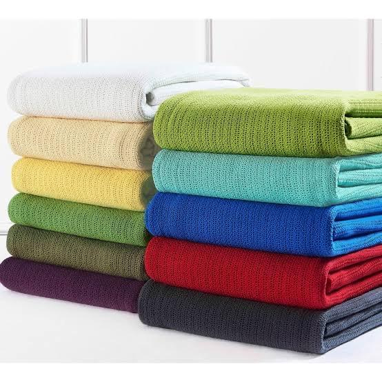 Cotton Thermal Blanket - Throws - waseeh.com