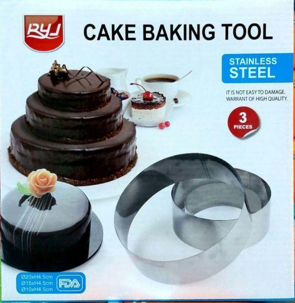 stainless steel cake baking tool - waseeh.com