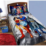 Single Kids Bed Sheet Set #Justice League (3 Characters) - waseeh.com