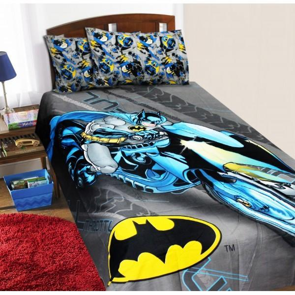 Single Kids Bed Sheet Set - Batman - waseeh.com