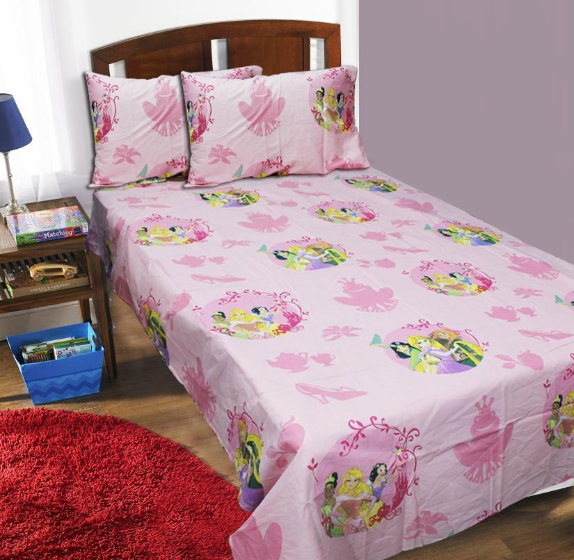 Single Kids Bed Sheet - Princess - waseeh.com
