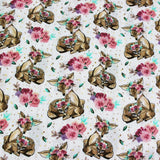 Single Kids Bed Sheet - Deer - waseeh.com